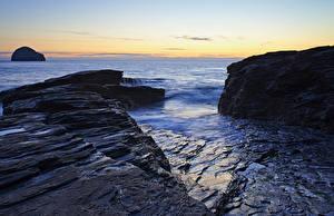Bilder Meer Küste Felsen