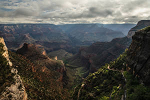 Pictures USA Grand Canyon Park Parks Mountains Canyons