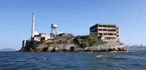 Picture USA Island California San Francisco Prison Cities