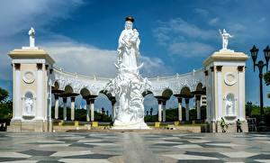 Bilder Venezuela Engeln Denkmal Monument Of The Virgin, Maracaibo Städte