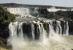 Fotos Argentinien Park Wasserfall Flusse Iguazu national Park, Iguazu, province of Misiones