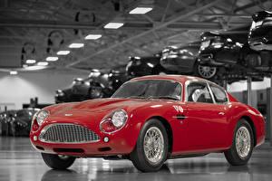 Fondos de Pantalla Aston Martin Rojo Metálico 2019 DB4 GTZ Continuation Zagato Coches