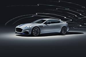 Bilder Aston Martin Weiß 2019 Rapide E Worldwide