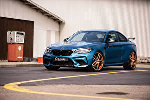 Pictures BMW Light Blue 2019 G-Power M2 Competition Cars