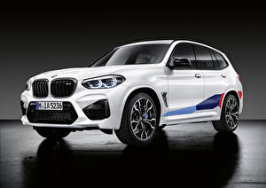 Pictures BMW White CUV 2019 X3 M M Performance Parts Worldwide Cars