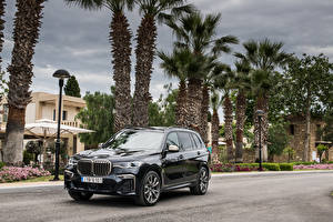 Picture BMW Black Metallic Crossover 2019 X7 M50d Worldwide Cars
