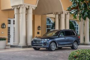Fotos BMW Grau Crossover 2020 X7 xDrive40i Design Pure Excellence auto
