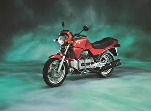 Bilder BMW - Motorrad Antik Rot 1983-92 K 100 Motorräder