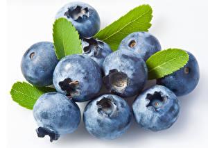 壁纸,,浆果,蓝莓,特寫,白色背景,食物