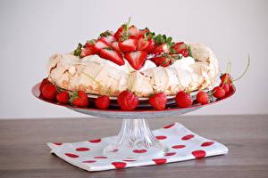 Hintergrundbilder Torte Erdbeeren Design Die Sahne das Essen
