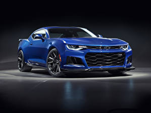Fotos & Bilder Chevrolet Hellblau Blau 2019 Camaro ZL1 Autos
