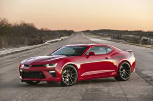 Fotos & Bilder Chevrolet Rot Metallisch  Autos