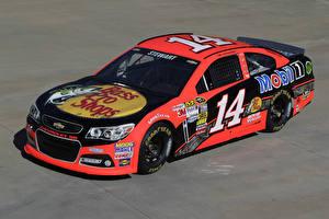 Bilder Chevrolet Tuning Rosa Farbe 2013-17 SS NASCAR Sprint Cup Series Autos