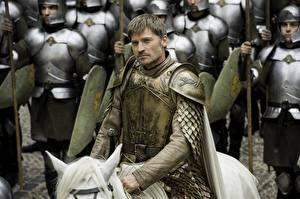 Bilder Game of Thrones Mann Rüstung jaime lannister Nikolaj Coster Waldau Film
