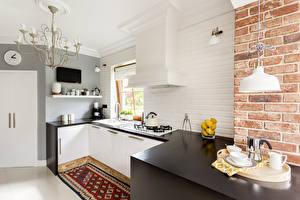 Hintergrundbilder Innenarchitektur Design Küche Lüster Tisch