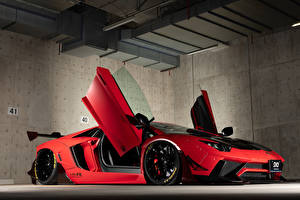 Fotos Lamborghini Rot 2013-19 Performance Aventador Limited Edition Autos