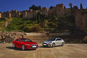 Desktop hintergrundbilder Lexus Zwei ES, RC Autos
