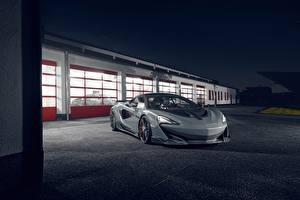 Hintergrundbilder McLaren Graue Novitec 600LT automobil