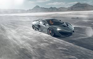 Hintergrundbilder McLaren Bewegung Graue Novitec 600LT automobil