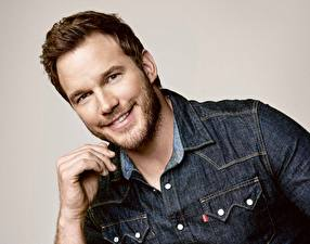 Pictures Man Chris Pratt Smile Beard Beautiful Celebrities