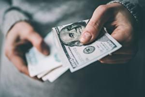 Images Money Paper money Dollars Fingers Hands 100