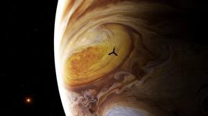 Papel de Parede Desktop Satélite natural Júpiter