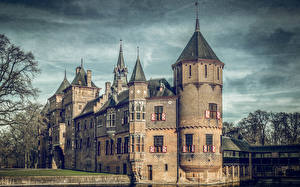 Fotos Niederlande Burg HDRI De Haar Castle Städte