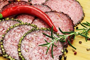 Images Sausage Chili pepper Black pepper Sliced food