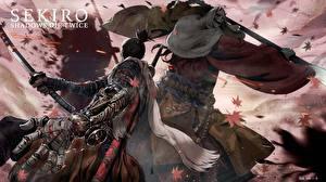 壁纸、、Sekiro: Shadows Die Twice、侍、喧嘩、剣、忍者、