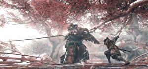 Picture Sekiro: Shadows Die Twice Samurai Swords Fight Ninja Games