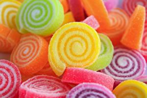 Bilder Süßware Marmelade Hautnah Bunte