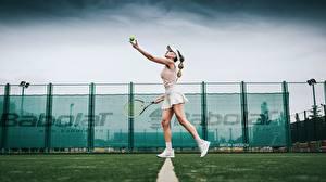 Pictures Tennis Legs Skirt Side Katrin Sarkozy, Anton Harisov Sport Girls