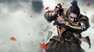 壁纸、、ウォリアーズ、Sekiro: Shadows Die Twice、侍、剣、手、忍者、