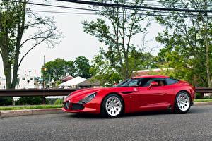 Fotos Alfa Romeo Rot 2011-2013 TZ3 Stradale Zagato auto