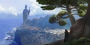 Bilder Assassin's Creed Odyssey Denkmal 2018 computerspiel Städte