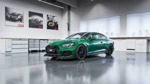 Hintergrundbilder Audi Grün Coupe 2018 ABT RS5-R auto