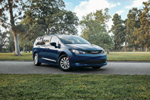 Pictures Chrysler Blue 2020 Voyager
