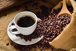 Fotos Kaffee Tasse Getreide das Essen