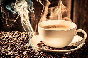 Bilder Kaffee Tasse Getreide Dampf das Essen