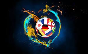 Bilder Fußball Feuer Ball
