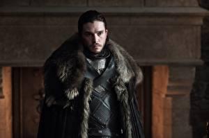 Wallpaper Game of Thrones Man Kit Harington Beautiful jon snow film