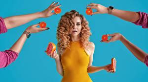 Pictures Grapefruit Curly Hands Hairdo Hairstyle Beautiful Hair Katrin Sarkozy, Anton Harisov Girls