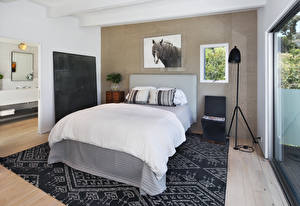 桌面壁纸,,室內,设计,臥房,床,地毯,