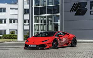 Fotos Lamborghini Rot Metallisch 2018-19 Prior-Design PDLP610WB Widebody Aerodynamik-Kit
