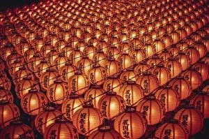 Images Many Texture Lantern Chinese