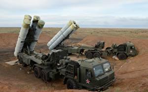 Bilder Raketenwerfer Russische S-400