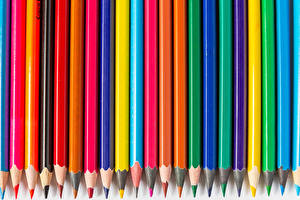 Papel de Parede Desktop Lápis Multicolor