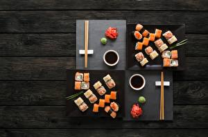 Images Sushi Fish - Food Chopsticks Soy sauce Boards
