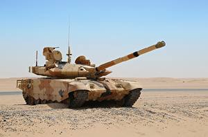 Picture Tank Desert Russian T-90MC military
