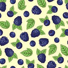 Bilder Textur Beere Brombeeren Blatt Lebensmittel